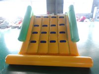 Wholesale play free games resale online - Inflatable water slide inflatable water fun play games with sealed blower