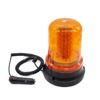 araba ambulansı toptan satış-HEHEMM 120 LED Strobe Uyarı Işığı Araba Kamyon Ambulans Acil Araçlar Flaş Lambası 12 V Amber Kırmızı Mavi