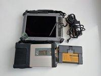 bluetooth otomatik tanılama toptan satış-Yüksek kalite Auto car Teşhis aracı Xplore ix104 tablet i7cpu 4g 8G + SD C5 MB Yıldız C5 + BMW ICOM A2 + B + C + 1 adet 1 tb MINi SSD yumuşak-ware