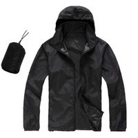 Wholesale skin jacket brown for sale - Summer New Brand Women s Men s KIDS Fast drying Outdoor Casual Sports Waterproof Skin Anti UV Jackets Coats Windbreaker Size XS XL