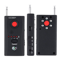 поиск ошибок оптовых-CC308+ беспроводной объектив камеры детектор радиоволны сигнал обнаружения камеры полный спектр WiFi РФ Singnal ошибка лазер GSM устройство Finder