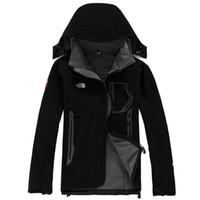 chaquetas de ápice al por mayor-MACHO caliente North Denali Apex Bionic Chaquetas Outdoor Casual SoftShell Cálido Impermeable A Prueba de Viento Transpirable Ski Face Coat 107