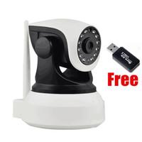 câmera lcd display ip venda por atacado-Câmera esperta audio da maneira do wifi 2 do monitor do bebê com o Wireless da câmera do IP da segurança da detecção de movimento