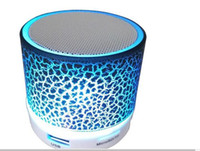 Wholesale Portable Speakers For Android Phones - Mini portable wireless LED shine Bluetooth Speaker with subwoofer stereo for android ios phone in retail box