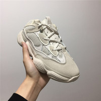 Wholesale desert boot green - 2018 Hot Sale Boost 500 Blush Desert Rat Kanye West Wave Runner 500 Sneakers Running shoes designer shoes Athletic Sneaker Outdoor boots
