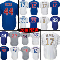 Wholesale Chicago Kyle Schwarber Jersey Jason Heyward Baseball Jerseys