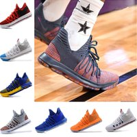 bf95515c80f 2019 New Arrival Kevin Durant 10 Basketball Shoes Men Kd 10 Gold  Championship MVP Finals Sports Shoes training Sneakers Run Shoes Size 7-12
