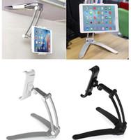 Metall 2 In 1 Küche Tablet Halterung Stand Wandhalterung Schreibtisch Stand  Telefon Halter Halterung Für IPad Pro 4 10.5 Zoll Telefon Tablet Computer