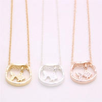 Wholesale fish pendant gold chain for sale - Group buy Fish and fish tank pendant necklace Child interest fish tank pendant necklace designed for women Retail and mix