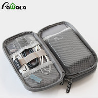 Wholesale electronics organizer bag - Travel Gadget Organizer Bag Portable Digital Cable Bag Electronics Accessories Storage Carrying Case Pouch For Usb Power Bank