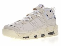 Wholesale creamy white - New Fashion Pippen Uptempo Basketball Shoes Creamy White Sneakers Black Orange And Green Shoelace Men Women Sports Shoes High Quality
