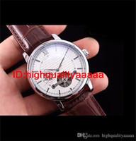 gewinner schmuck großhandel-Mechanische Herrenuhren Automatische Schwungrad Lederband Uhr Mode Antike Perspektive Persönlichkeit Luxus Schmuck Marke Gewinner Wat