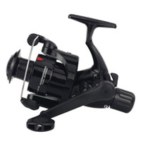 Wholesale bait free reels - 4000 Series Rear Brake System Snake Fishing Sensitive Ball Bearing BB Spinning Reel Rear Drag Fishing Wheel