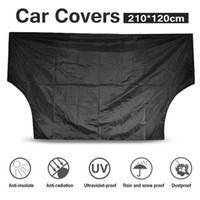 Wholesale heat shield cover - Car 210*120CM Covers Windscreen Magnetic Cover Heat Sun Shade Anti Snow Frost Ice Sun Shield UV Dust Protector