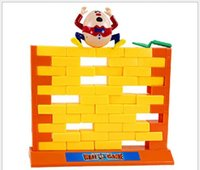 Wholesale Lovely Gadget - Lovely Too Creative Wall Demolish Game Funny Gadgets Push Wall Board Interesting Toys For Children Funny Toys interactive Toy