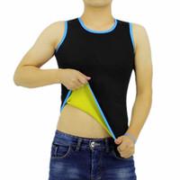 corsés de fitness al por mayor-CHENYE Brand Camisas para hombres Slim Fit Men Tank Tops Ropa Camiseta Tops de fitness Hot Shapers Compresión para adelgazar chaleco Corsés