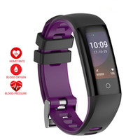 Wholesale fitness modelling - G16 Smart Wristband 3 Style Model G16 Heart Rate Monitor Fitness Tracker Smart Bracelet R16S With Blood Pressure For IOS Android