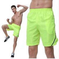 pantalones cortos de tenis de mesa al por mayor-Tenis Shorts Hombre Transpirable Secado rápido Entrenamiento Running Hombres Gym Shorts Bermuda Marathon Ping Pong Tenis de mesa Shorts