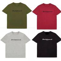 Wholesale Women Ca - 5 Colors Hip Hop Tees T Shirts Men Women Tee Letter Print Cotton 2018 Clothing UK US CA in stock