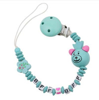Wholesale teether hanging toys resale online - 1 Baby Toys New Wooden Teether Teething Beads Classic Wooden Toys Baby Teether Stroller Newborn Bottle Hanging Rattles