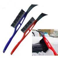 Wholesale Car Spade - Mini Multifunction Vehicle Car Snow Brush Ice Shovel Scraper Removal Emergency Spade Auto Clean Tool CCA8887 100pcs