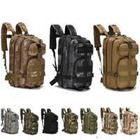 Wholesale pack clothes travel for sale - 3P Hiking Camping Military Pack Both Shoulders Backpack Rucksack Tactical Travel Bag Rucksacks Camouflage Outdoor Bags Hot Sale ly gg