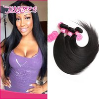 Wholesale long straight hair weave 22 inch for sale - Peruvian Indian Malaysian Cambodian Brazilian Virgin Hair Weave Bundles Straight Hair Wave Human Hair Extensions inch inch Long Inches