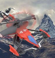 uzaktan kumandalı araç kullanıldı toptan satış-Uzaktan helikopter çift kullanımlı uçağı UAV uzaktan kumanda oyuncak araba uzaktan kumanda helikopter çocuk hediye oyuncak