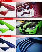 farbwechsel fensterfolie großhandel-10 STÜCKE 127 CM * 10 CM 3D Farbänderung Film Auto Innen Vollständige Fahrzeug Farbwechselpaste Kohlefaser Farbwechsel Aufkleber