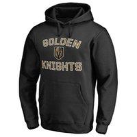 золотые имена оптовых-17-18 НХЛ Вегас Золотые рыцари толстовки 18 Нил 29 Флери Engelland перрон Карлссон любое пользовательское имя и номер игрока кофты