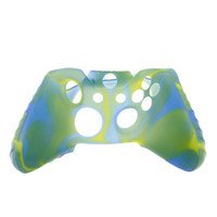 Wholesale xbox one controller rubber grip resale online - For Xone Soft Silicone Flexible Camouflage Rubber Skin Case Cover For Xbox One Slim Controller Grip Cover