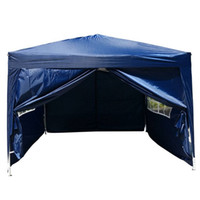 Wholesale Doors Canopy - Two Doors Two Windows Canopy Party Folding Tent With Sides 3m 3m
