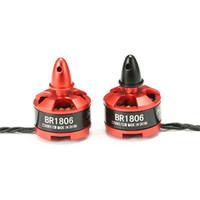 Wholesale rc brushless motors - Hot New Racerstar 1806 BR1806 2280KV 1-3S Brushless Motor CW CCW For QAV250 ZMR250 260 RC Multirotor