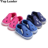 Discount 12 year baby models - Top Leader Spring and Autumn Models Set Foot 0-1 Years Old Baby Shoes Soft Bottom Fashion Newborn Baby Toddler Shoes