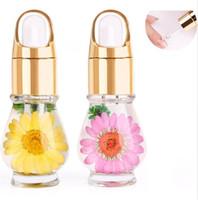 aceite corporal nuevo al por mayor-Nuevo Aceite de cutícula Tratamiento de uñas Flor seca Nutrición natural Líquido blando Agente Uñas Protección de borde Cuidado Cuerpo Regalo de salud