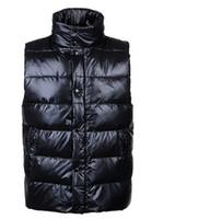 ingrosso vestito classico degli uomini-Uomini classici di marca Inverno Caldo Giù Gilet Feather Dress Giacche Uomo Outdoor impermeabile Giubbotti Giubbotto Cappotto Man Jacket
