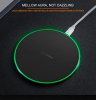 Wholesale fre for iphone online – custom Qi Wireless Charger Charging For Samsung S6 Edge s7 edge s8 plus sale iphone X Fantasy High Efficiency pad with new retail packageKD fre