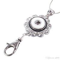 metal anahtarlık tasarımları toptan satış-Yeni noosa parçaları anahtarlık moda metal zencefil çırpıda düğmesi anahtarlık oymak tasarım anahtar toka kristal elmas taklidi 2 8ws y