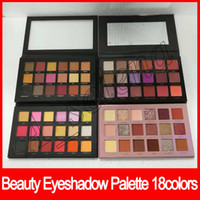 Wholesale nude eye palettes for sale - 2018 New Nude Eyeshadow Palette Rose Gold Remastered Rose Gold edition eye shadow texture eyeshadow desert dusk colors