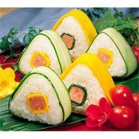 Wholesale rice balls for sale - Group buy KANNERT Tri angle Sushi Mold Onigiri Rice Ball Bento Press Maker Mold DIY Kitchen Cooking Tools