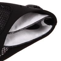 гоночный фильтр оптовых-Professional Half Face Mask Outdoor Sport Anti Dust Mask Hook Cycling Bicycle Motorcycle Racing Face Filter Shield