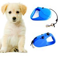 Wholesale dog leash 5m for sale - Group buy 5m m Retractable Dog Leash Lead One handed Lock Training Pet Puppy Walking Nylon Leashes Adjustable Dog Collar for Dogs Promotion