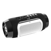 caja de tarjeta flash usb al por mayor-Hot C-65 HIFI Altavoz inalámbrico Bluetooth portátil Barra de sonido estéreo TF FM Radio Subwoofer de música Altavoces de columna para teléfonos de computadora