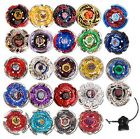Wholesale Plastic Beyblades - 24 Styles Beyblade Booster Alter Spinning Gyro Launcher fidget spinner Starter String Booster Battling Top Beyblades Beyblade Toy GGA242