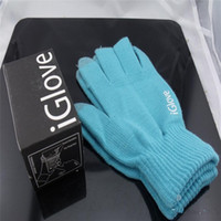 Wholesale i glove resale online - Knit iGlove Touch Screen Gloves Telefingers Multi Purpose Winter i Gloves screen touch phone gloves For iphone x samsung s9 s8 s7