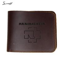 Wholesale custom wallets wholesale - Custom Name Vintage Men Purses Wallet Simple  Holders Short Leather Wallet Bag