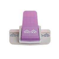 tarjetas impresas a mano al por mayor-Papel de impresión Hand Shaper Tag Card Craft DIY Scrapbook Punch Cutter Tool YH303
