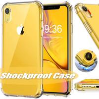 notiz tpu zurück großhandel-Für neue iphone 11 pro xr xs max x case transparent stoßfest tpu rückseitige abdeckung für samsung s9 s8 plus hinweis 8
