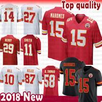Wholesale kansas city throwback jerseys for sale - 15 Patrick Mahomes II Kansas  City Chiefs Jersey 1200735ea