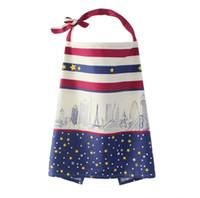 t couvre achat en gros de-Couverture d'allaitement en coton multi-usage de 19 couleurs T-shirts de maternité Allaitement au sein contenant un sac à provisions